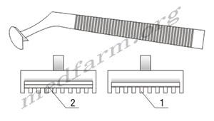 Станок для бритья операционного поля схема